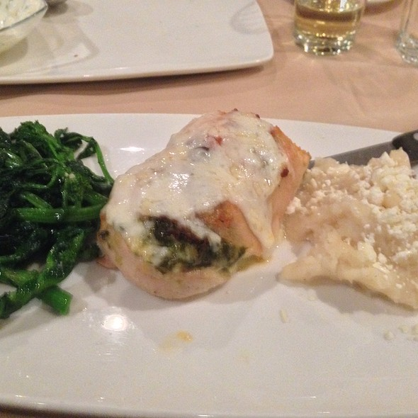 Stuffed Chicken Breast - Avli Restaurant, Winnetka, IL