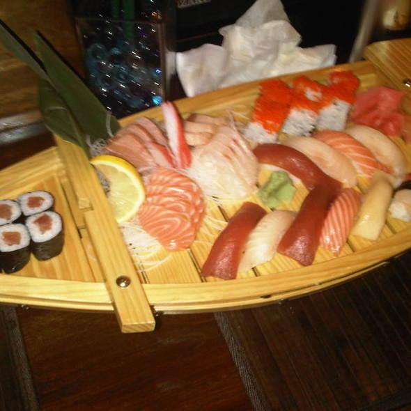 Sushi Boat @ In Japan