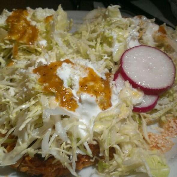 Chicken Tostadas - Fogon Cocina Mexicana, Seattle, WA
