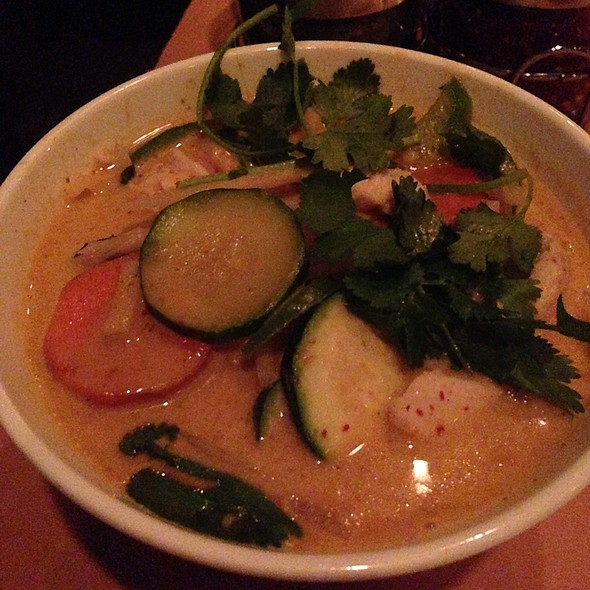 Red Curry With Eggplant, Carrots And Chicken @ National Thai Restaurant