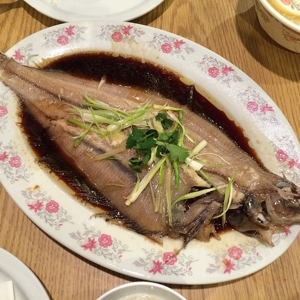 Steamed Flounder With Ginger And Shallot @ Jen Jen's Chinese Restaurant
