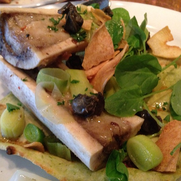 Roasted Bone Marrow With Escargot @ Little Bird