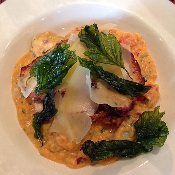 Chicken And Gnocchi With Sweet Potato Puree @ The Hog Penny Pub