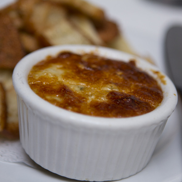 Blue Cheese Souffle - The Crossing, Clayton, MO