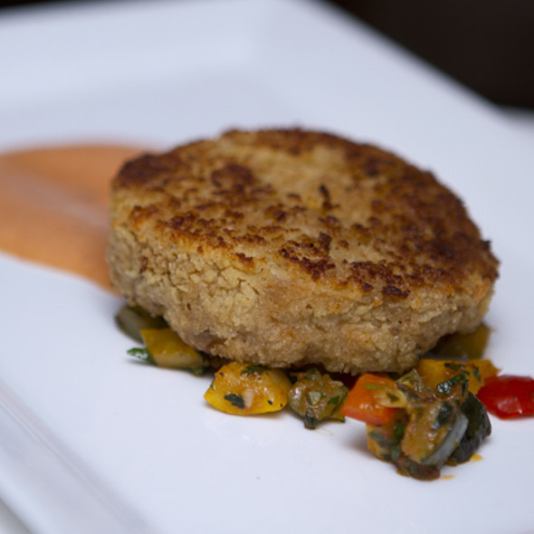 crab cake - The Crossing, Clayton, MO