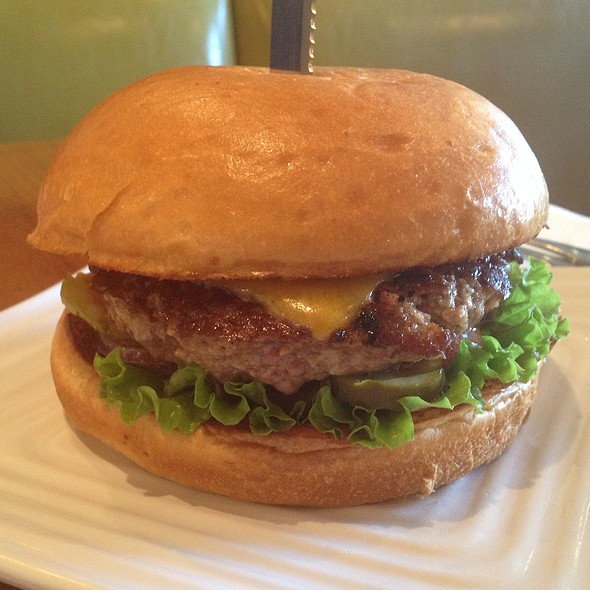 Liberty Burger With Cheddar @ Liberty Burger