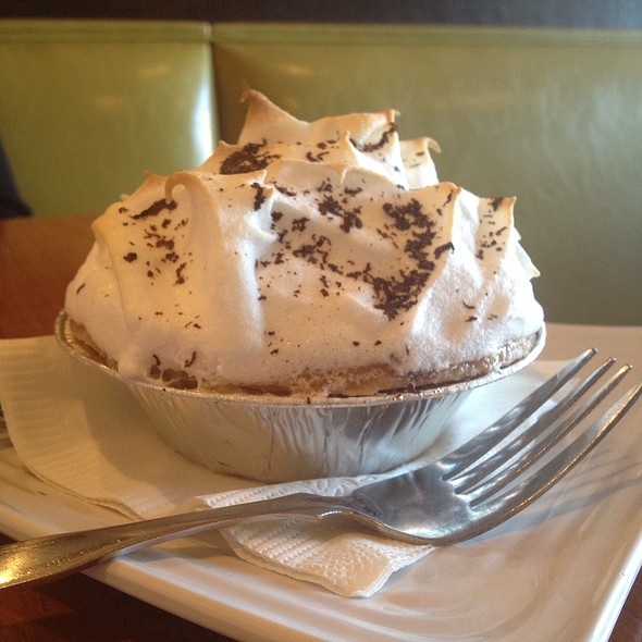 Personal Chocolate Pie @ Liberty Burger