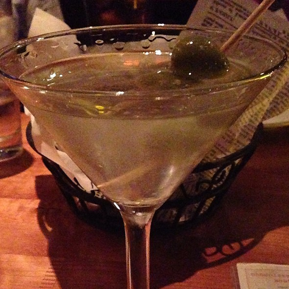 Kettle One Martini Dry W/Blue Cheese Olives - Salt Creek Grille - Dana Point, Dana Point, CA