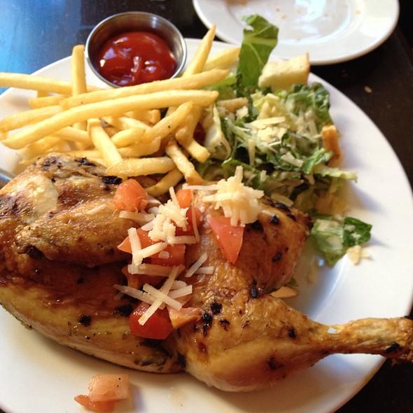 Herb Roasted Chicken - Bonnie Ruth's Neighborhood Bistro, Frisco, TX