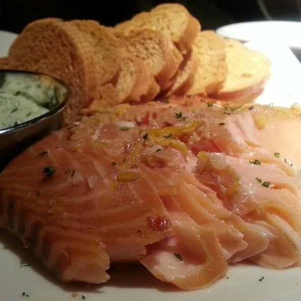 Smoked salmon @ J Alexander's Restaurants