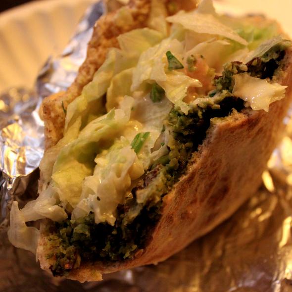 Falafel @ Mamoun's Falafel
