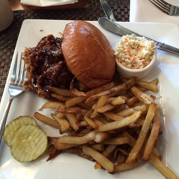 Pulled Pork Sandwich @ Lancaster Brewing Company