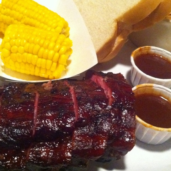 Baby Back Pork Ribs @ Ruby's Barbeque & Catering Co