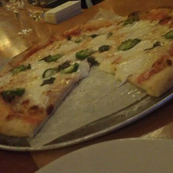 Margherita Pizza With Jalapenos @ Cambridge Brewing Company