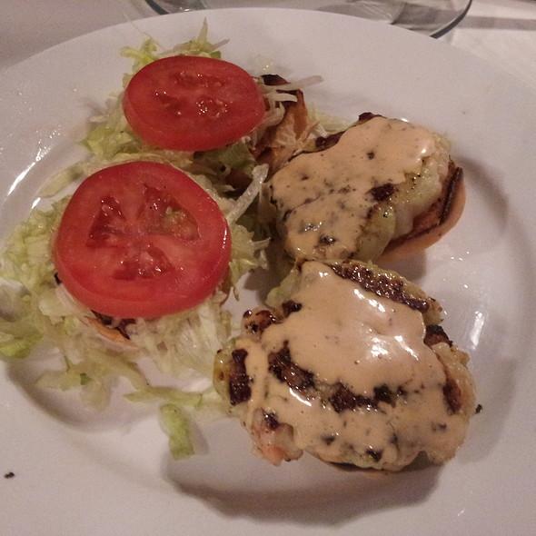 Shrimp Burger Sliders @ Farley Girls
