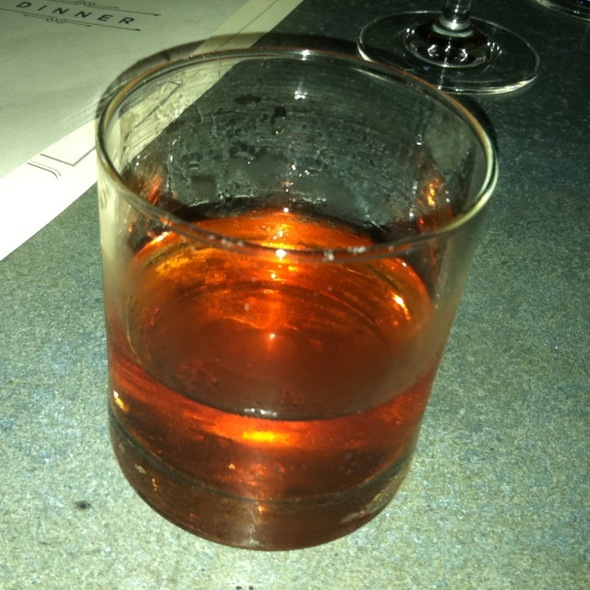 Duck Fat Sazerac @ Haddingtons