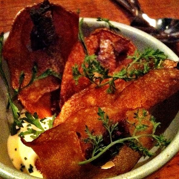 Sardine Chips @ Rich Table