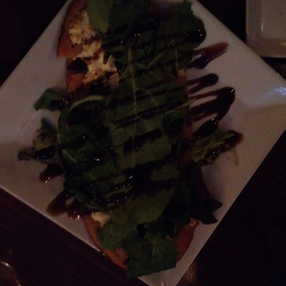 Fig And Goatcheese Flatbread @ Ernesto's Wine Bar