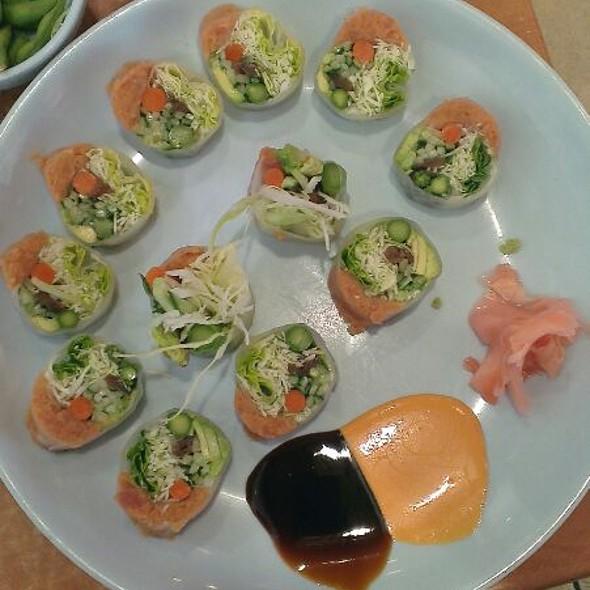 Makimono With Spicy Tuna.  @ Sora Japanese Grill - DTW