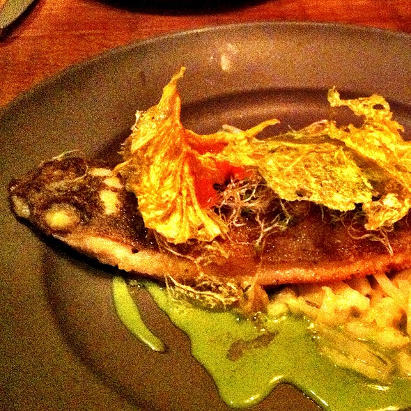 Rainbow Trout, Nappa Cabbage, Young Ginger, Fennel @ Rich Table