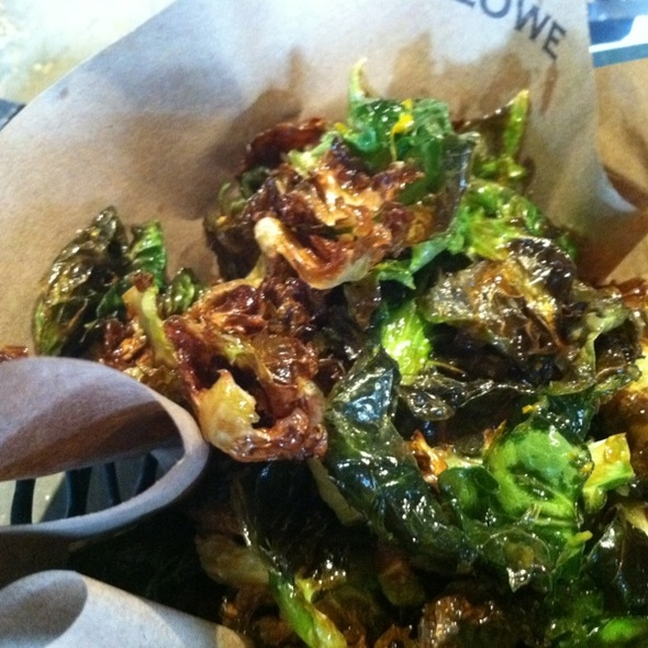 Brussel Sprouts Fries @ Marlowe