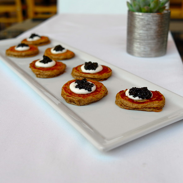 Blinis & Caviar - Petrossian Paris Boutique & Restaurant, West Hollywood, CA