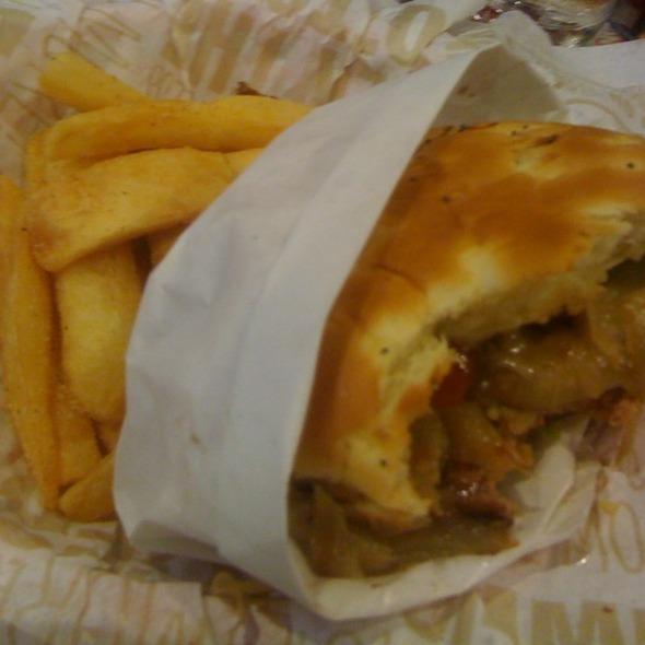 Sweet Onion Burger