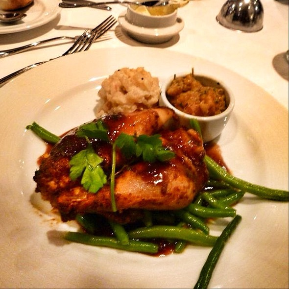 Roasted Half Spring Chicken With Gravy @ Cruise