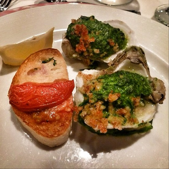 Oysters Rockefeller @ Cruise