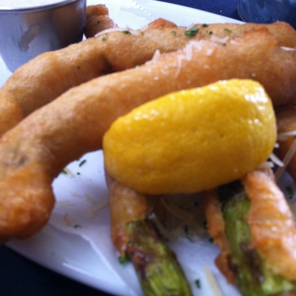 Fried Asparagus @ Moonshine Patio Bar & Grill
