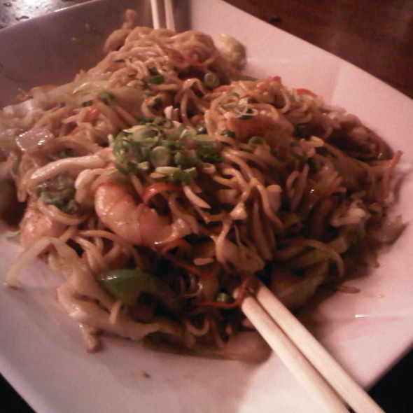 Shrimp Yakisoba @ Haiku Japanese Restaurant