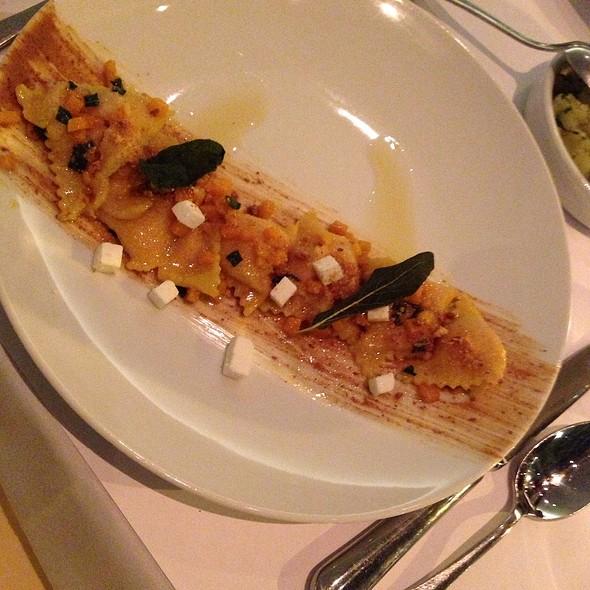 Sweet potato agnolotti @ Boulud Sud