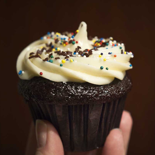 Chocolate and Cream Cheese Cupcake @ Trophy Cupcakes