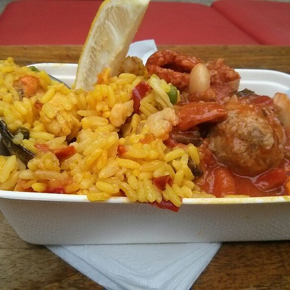 Catalan Stew With Paella @ Cafe Brood