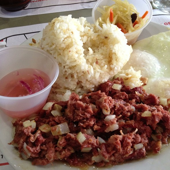 Corned Beef Silog @ Cafe Colma