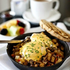 Duck Confit Hash - Southerly Restaurant and Patio, Mount Pleasant, SC