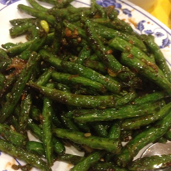 Dry Braised String Beans