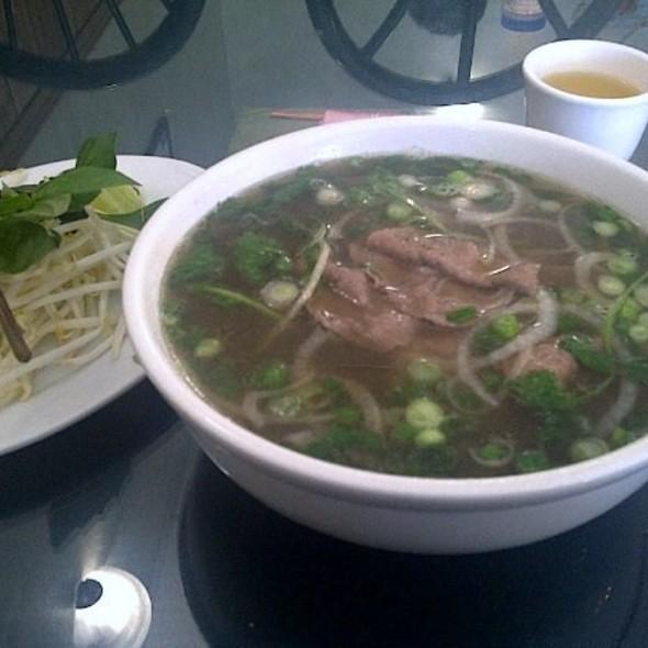 No. 16 Pho w/ Rare Beef @ Huong Tra Restaurant & Deli