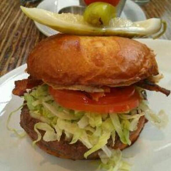 Bacon & Egg Burger @ Relish Burger Bistro
