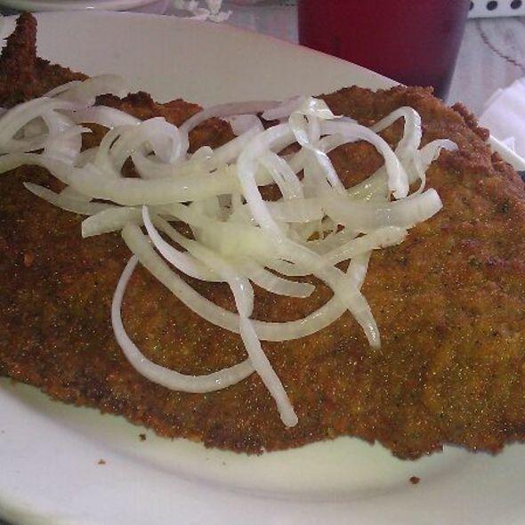 Breaded Steak @ Lincoln Cuban Restaurant