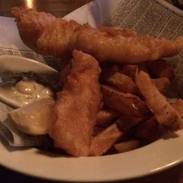 Fish and Chips - Folly Brewpub, Toronto, ON