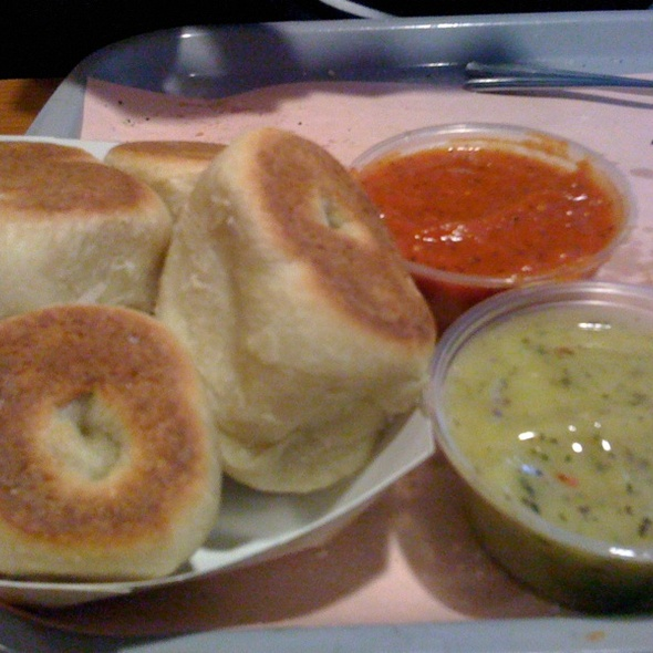 Garlic Rolls @ Leonardo's Pizza By The Slice