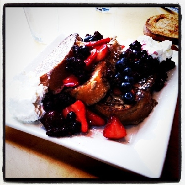 French Toast @ Portage Bay Cafe & Catering