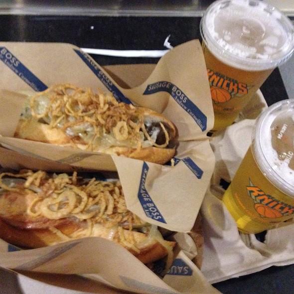Hot Dog @ Madison Square Garden