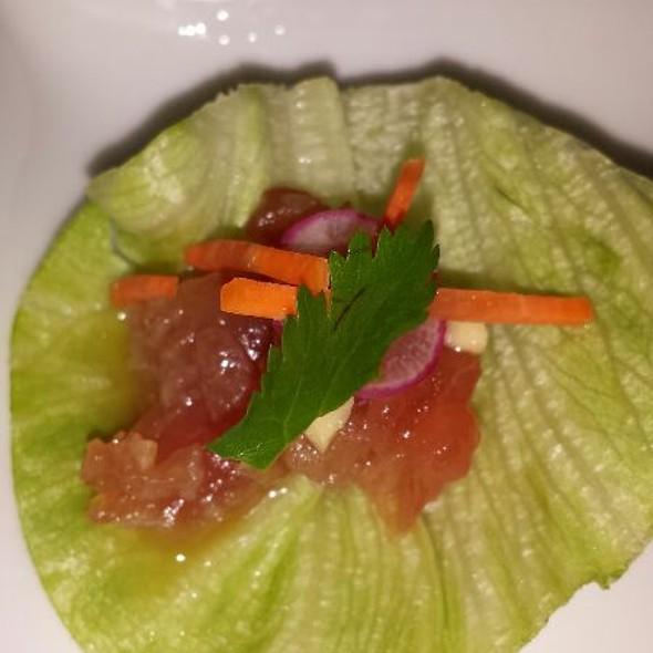 Amuse - Tuna Lettuce Wrap