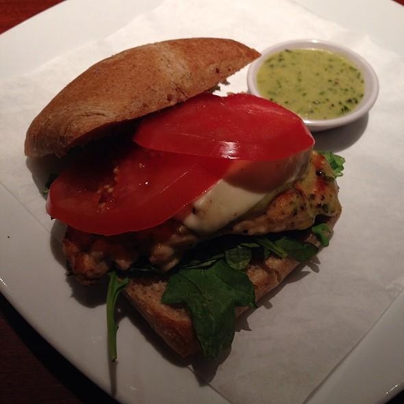 Grilled Chicken Caprese W/ Fresh Mozzarella, Tomato, Basil Pesto - Seasons 52 - Jacksonville, Jacksonville, FL