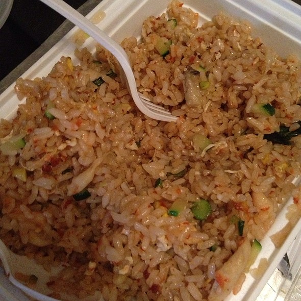 Malaysian Chicken Fried Rice - MoCA Asian Bistro - Queens, Forest Hills, NY