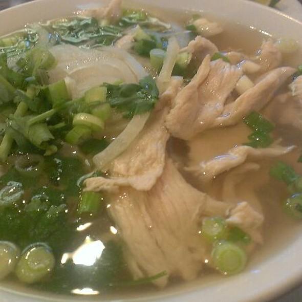 Chicken Pho @ New Vietnamese Restaurant