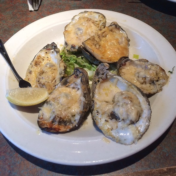 Char Grilled Oysters @ Half Shells Seafood Grill