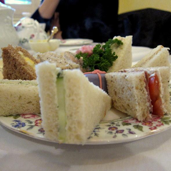 Tea Sandwiches @ Lisa's Tea Treasures